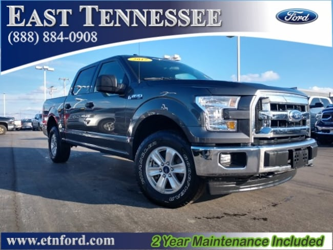 Used 2017 Ford F-150 XLT Truck SuperCrew Cab 1FTEW1EF8HFB24548 for sale near Chattanooga