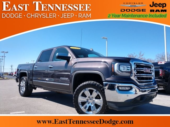 Used 2016 GMC Sierra 1500 SLT Truck Crew Cab 3GTU2NEC1GG270078 for sale near Chattanooga
