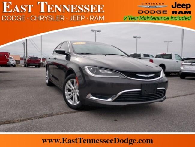 Used 2015 Chrysler 200 Limited Sedan 1C3CCCAB3FN577370 for sale near Chattanooga