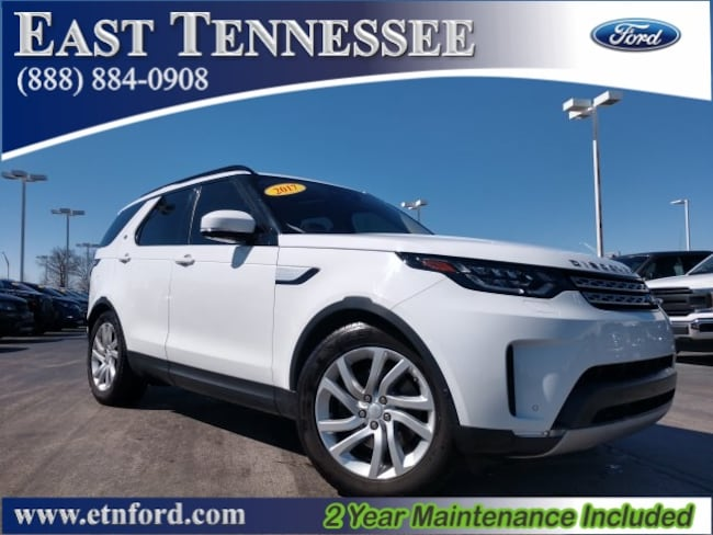 Used 2017 Land Rover Discovery HSE SUV SALRRBBV5HA045533 for sale near Chattanooga