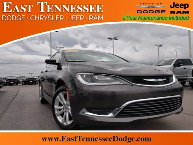 Used 2016 Chrysler 200 Limited Sedan 1C3CCCAB0GN129511 for sale near Chattanooga