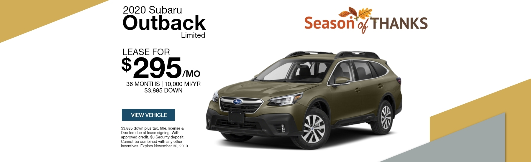 2020 Subaru Outback LTD
