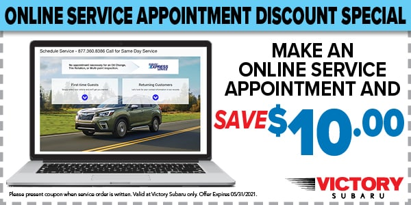 ONLINE SERVICE APPOINTMENT DISCOUNT SPECIAL