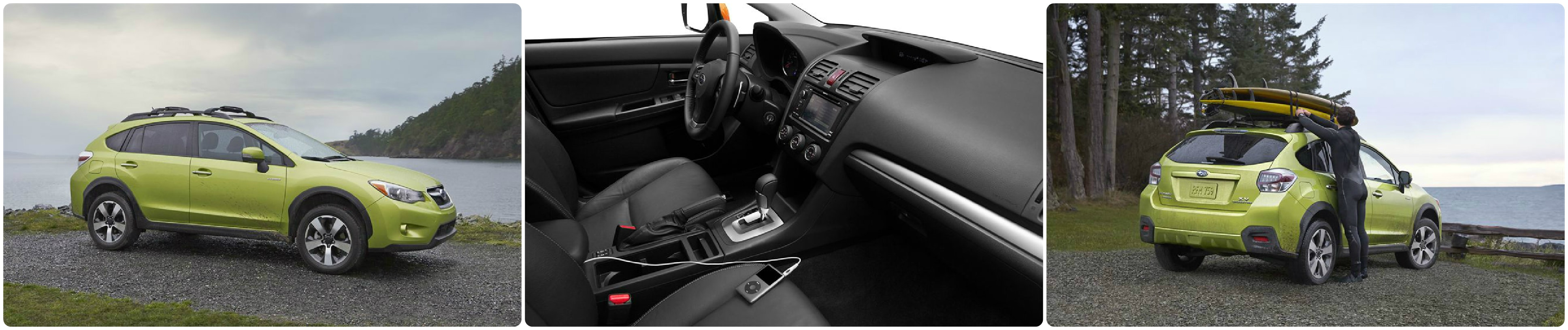 Subaru XV Crosstrek photo stitch offering interior and exterior shots in Somerset, NJ