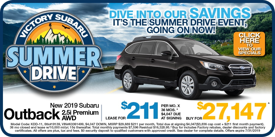 New 2019 Subaru Outback 2.5i Premium AWD