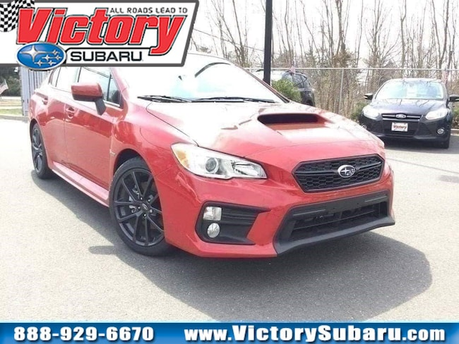 New 2018 Subaru WRX Premium Sedan in Somerset, NJ