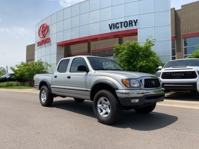 Used 2002 Toyota Tacoma PreRunner Truck Double-Cab 5TEGM92N52Z104454 for sale near Detroit MI