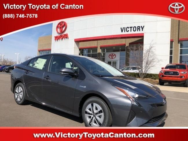New 2018 Toyota Prius Four Hatchback JTDKARFUXJ3056175 JTDKARFUXJ3056175 for sale near Detroit MI