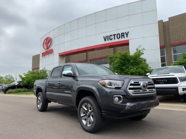 New 2019 Toyota Tacoma Limited V6 Truck Double Cab 3TMGZ5AN0KM235154 3TMGZ5AN0KM235154 for sale near Detroit MI