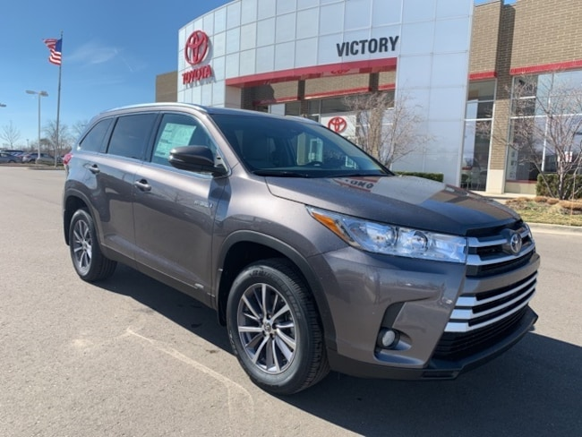 New 2019 Toyota Highlander Hybrid XLE V6 SUV 5TDJGRFH0KS064864 5TDJGRFH0KS064864 for sale near Detroit MI