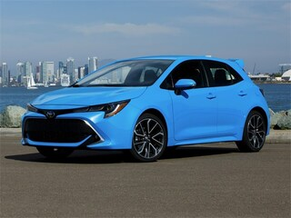 New 2019 Toyota Corolla Hatchback XSE Hatchback JTNK4RBE1K3014688