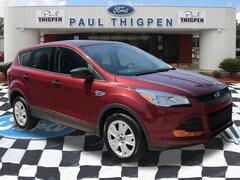 Used 2016 Ford Escape S SUV in Vidalia, GA
