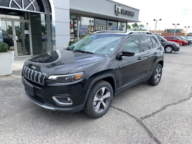 Used 2019 Jeep Cherokee LIMITED Sport Utility   4X4 in Terre Haute
