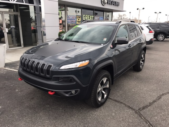 used 2017 jeep cherokee trailhawk 4x4 for sale | terre haute in