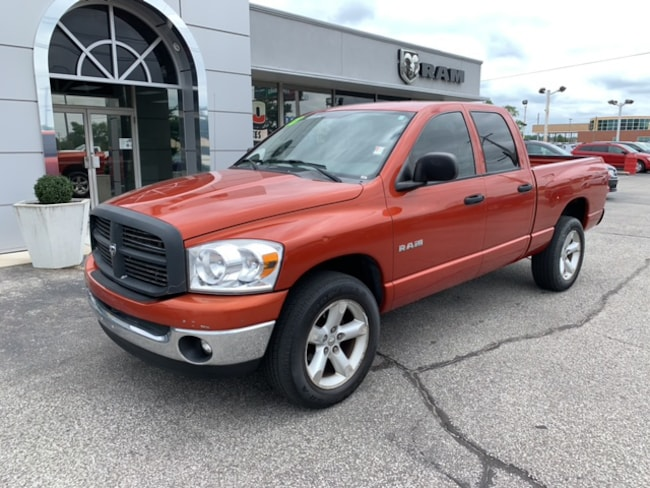 Used 2008 Dodge Ram 1500 ST Quad Cab4X4 in Terre Haute