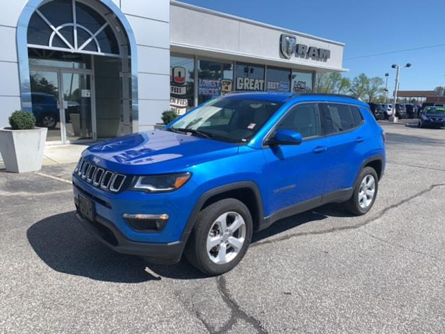 Used 2018 Jeep Compass LATITUDE Sport Utility   4X4 in Terre Haute