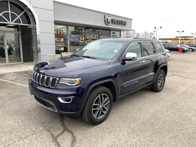 Used 2018 Jeep Grand Cherokee LIMITED Sport Utility   4X4 in Terre Haute