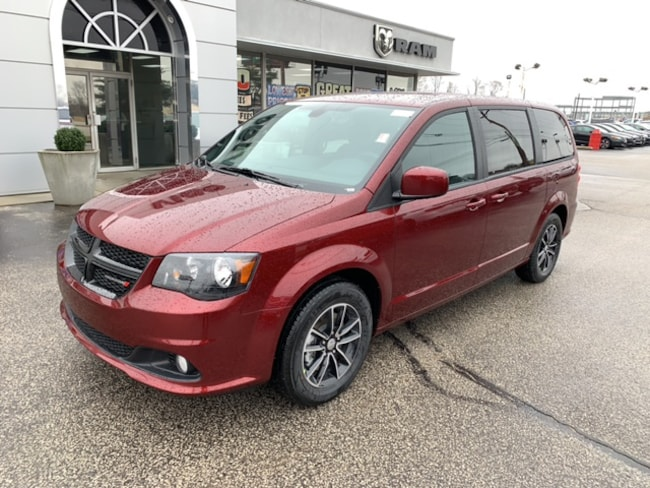 New 2019 Dodge Grand Caravan SE PLUS Passenger Van in Terre-Haute