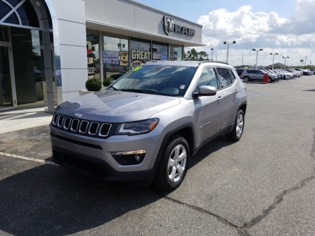 Used 2018 Jeep Compass LATITUDE 4x4 in Terre Haute