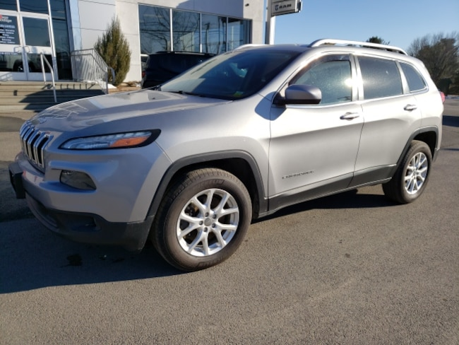 Used 2014 Jeep Cherokee Latitude 4x4 SUV for sale in Hudson NY