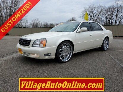 Used 2000 Cadillac Deville For Sale at Village Auto Inc