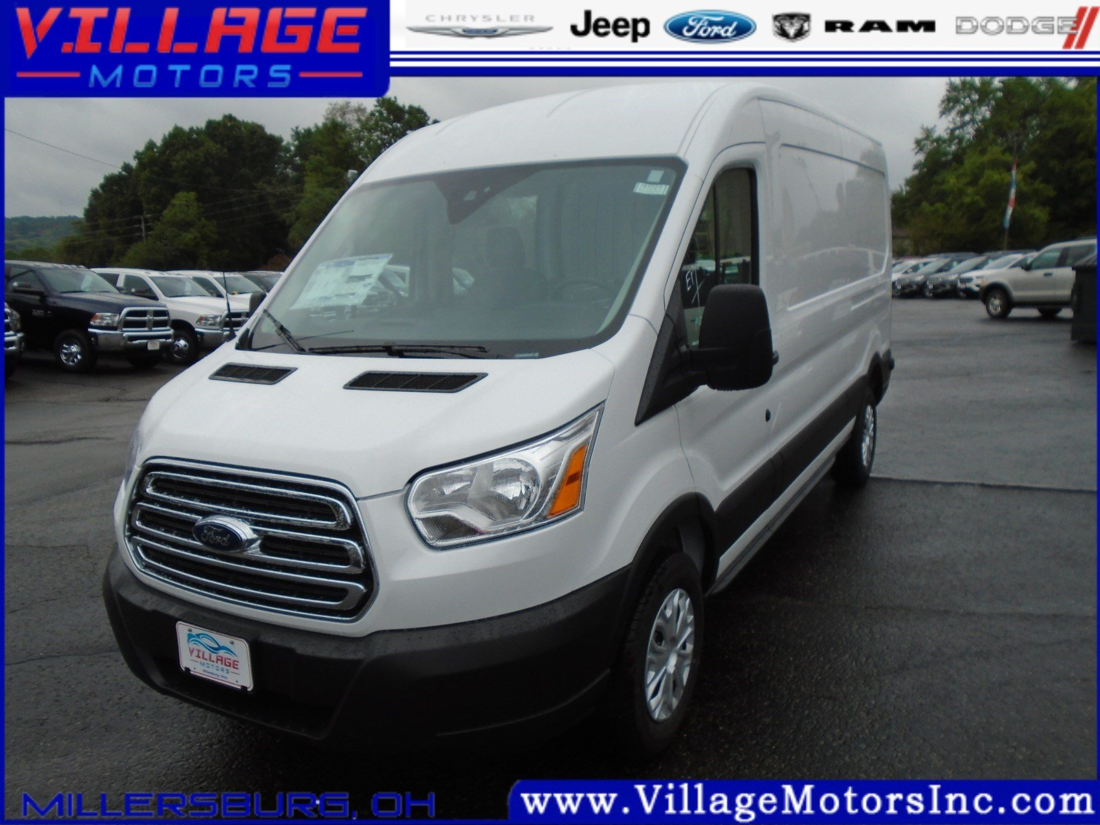 2019 Ford Transit 2019 FORD TRANSIT-250 W/SLIDING PASS-SIDE CARGO DO