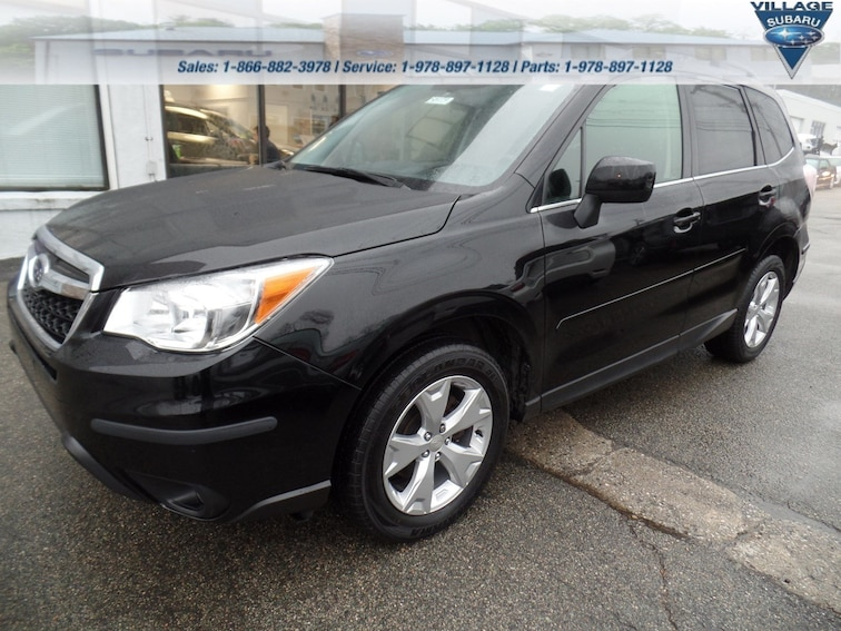 Used 2015 Subaru Forester 2.5i Limited CVT 2.5i Limited PZEV in Acton Massachusetts