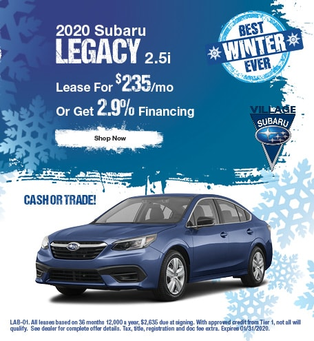 2020 Legacy January Offer