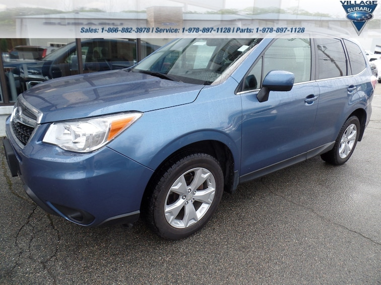 Certified Used 2016 Subaru Forester 2.5i Limited CVT 2.5i Limited PZEV in Acton Massachusetts