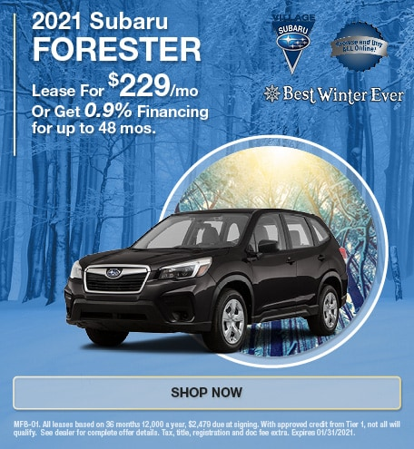 2021 Subaru Forester Jan Offer