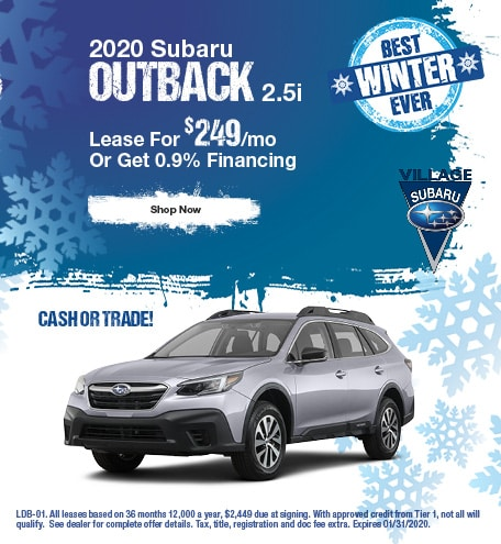 2020 Outback January Offer