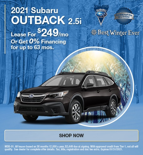 2021 Subaru Outback 2.5i Jan Offer