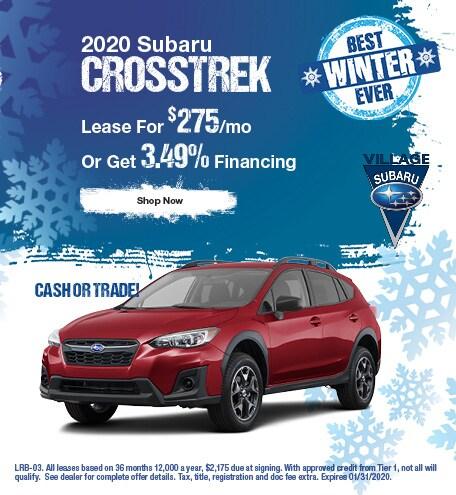 2020 Crosstrek January Offer