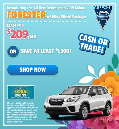 Introducing the All New Redesigned 2019 Subaru Forester