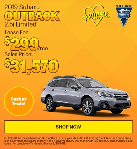 2019 June Outback Limited