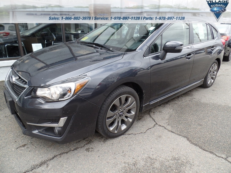 Used 2016 Subaru Impreza Wagon 2.0i Sport Premium CVT 2.0i Sport Premium in Acton Massachusetts