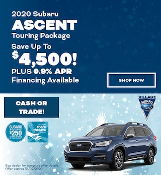 2020 Subaru Ascent Touring Package