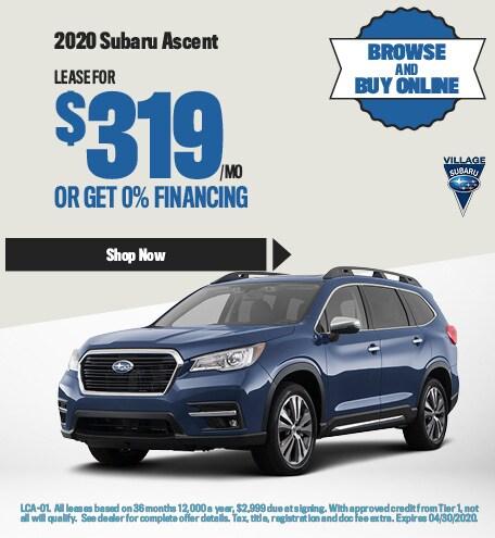 2020 Subaru Ascent April Offer