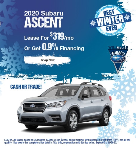 2020 Ascent January Offer