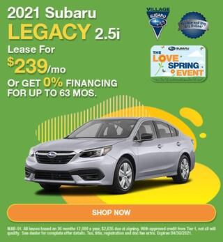 2021 Subaru Legacy 2.5i