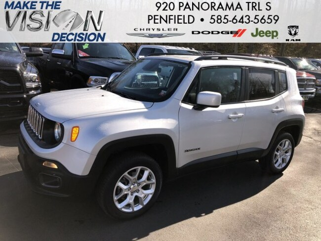 Jeep Dealers Rochester Ny >> Used 2018 Jeep Renegade Latitude 4x4 For Sale Rochester Ny