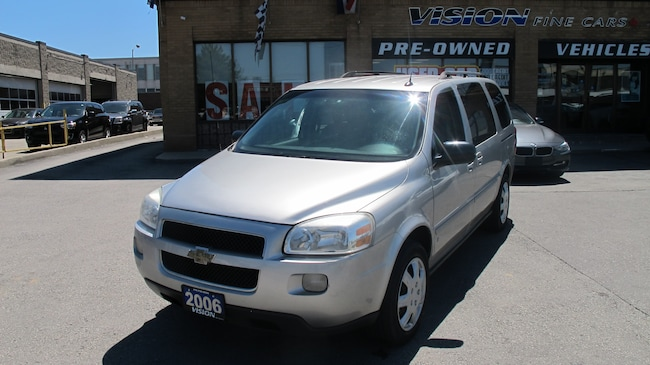 Used 2006 Chevrolet Uplander For Sale At Vision Fine Cars Vin