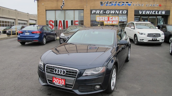 2010 Audi A4 2.0T Premium/SUNROOF/B UP SENSORS/B&O STEREO Sedan