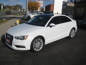 2015 Audi A3 2.0T A3 2.0T Komfort, Leather, Sunroof quattro