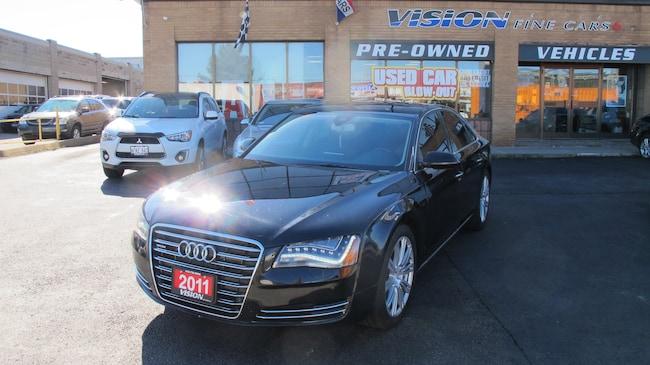 2011 Audi A8 4.2 Premium (Tiptronic)/REAR TV/NAV/B UP CAM Sedan