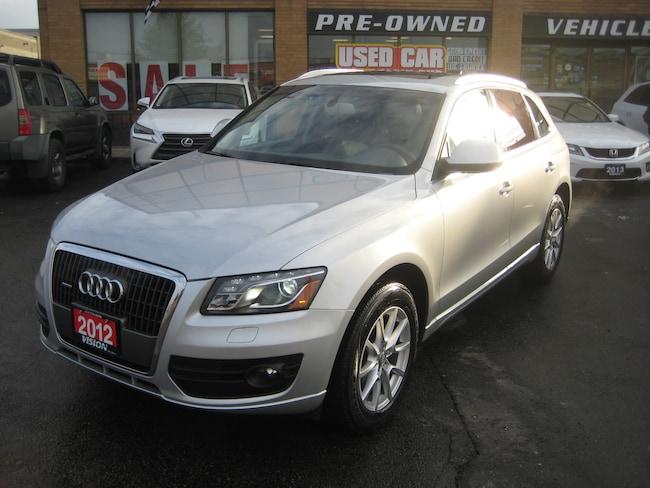2012 Audi Q5 2.0T Premium Plus, Push start, Pano roof,blindspot SUV