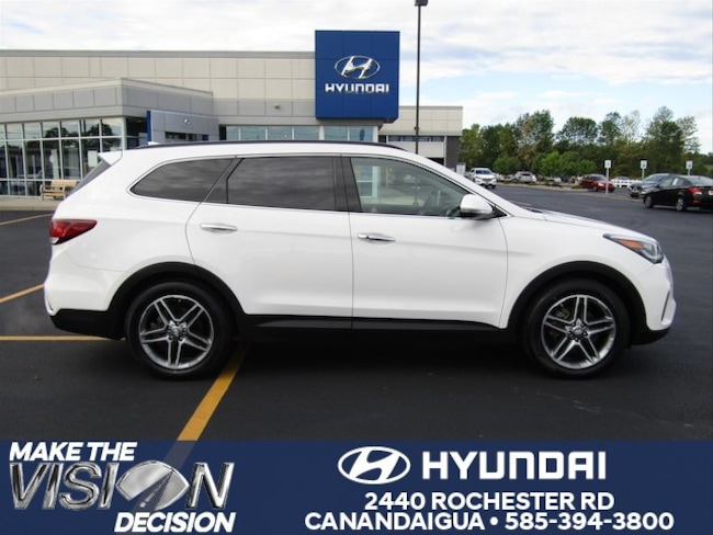 Used 2017 Hyundai Santa Fe SE Ultimate SUV in Canandaigua, NY