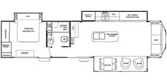 Used 2014 Cedar Creek Cottage 40CCK in Acheson, AB