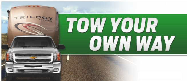 towing your RV at Vision RV