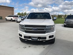 New Ford for sale  2019 Ford F-150 Platinum 4x4 SuperCrew Cab Styleside 5.5 ft. box 1 Truck SuperCrew Cab in Wahpeton, ND